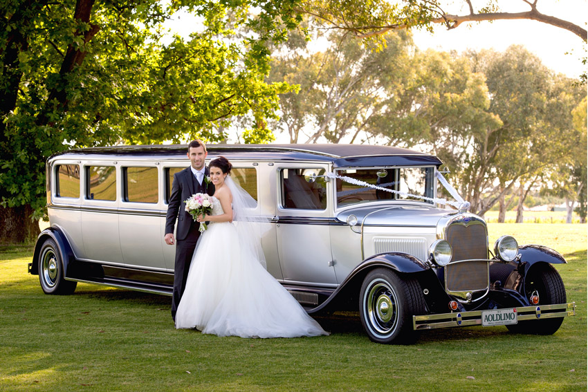 Galleries - Limousine Hire Perth | Wedding Limo Vintage Car Perth
